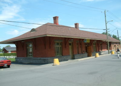 Ancienne gare du Canadien Pacifique