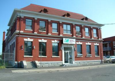 Anciens bureaux de la compagnie Singer