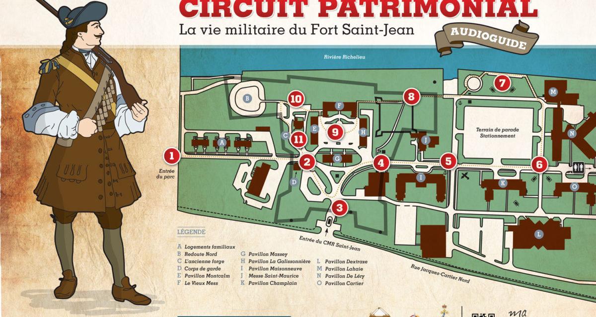 Circuit audioguidé du Fort Saint-Jean