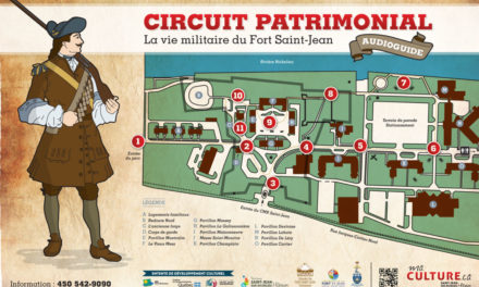 Circuit audioguidé du Fort Saint-Jean