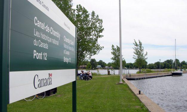 Écluse historique du Canal de Chambly