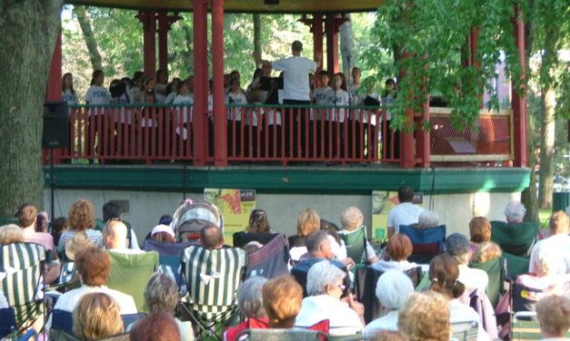 Kiosque à musique du parc Honoré-Mercier