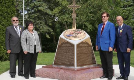 Le Québec se dote d'un troisième monument de l'Odyssée acadienne