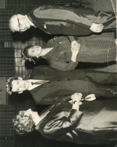 Roi et reine de la Société St-Jean-Baptiste de la paroisse Notre-Dame-Auxiliatrice, vers 1970
