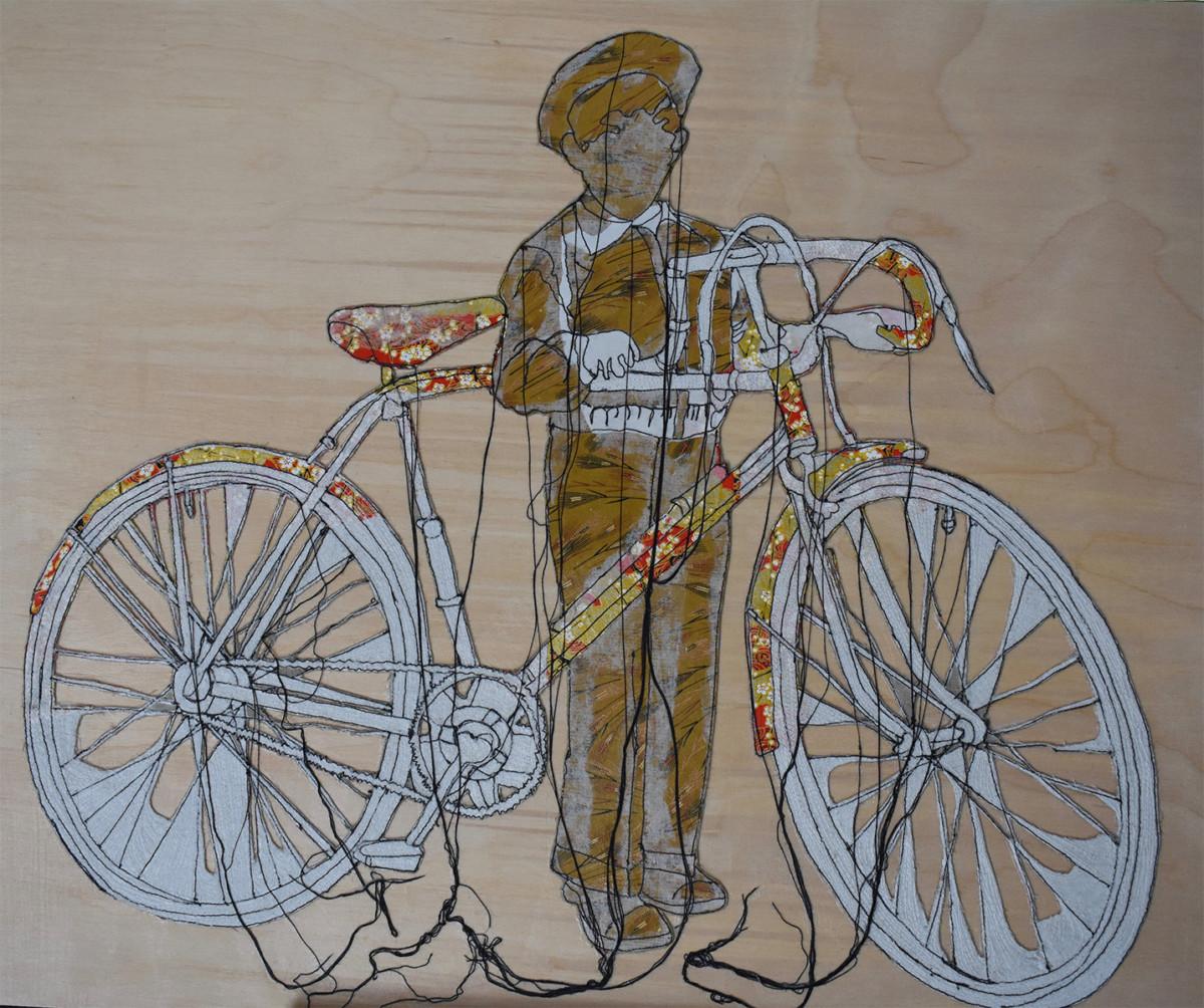 Mon vélo, par Sylvie Lajoie